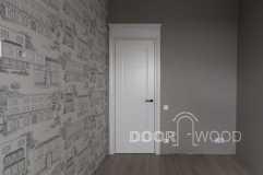 Дизайнерские двери в классическом стиле объект квартира в Харькове
