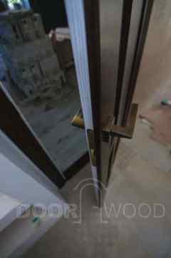 Двухсторонняя покраска двери
