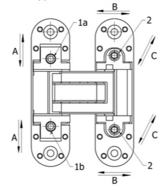 Cemom петля скрытая Estetic-80A универсальная3