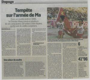 ARTICLE ARMEE DE MA