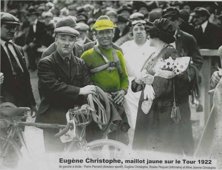 maillot jaune Eugène C.