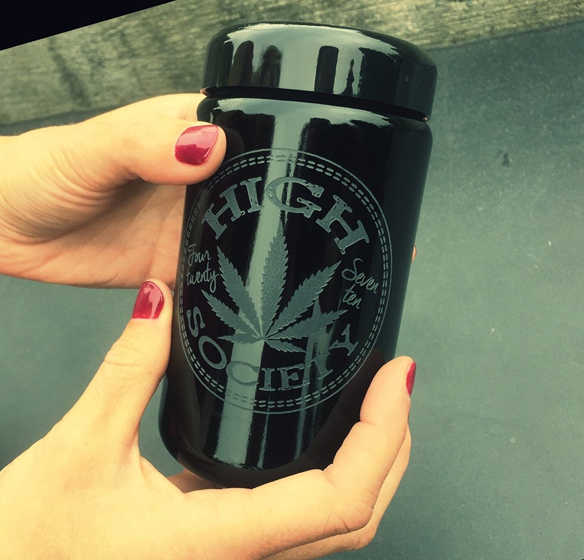 Dope Jars® - Deep Etched Design