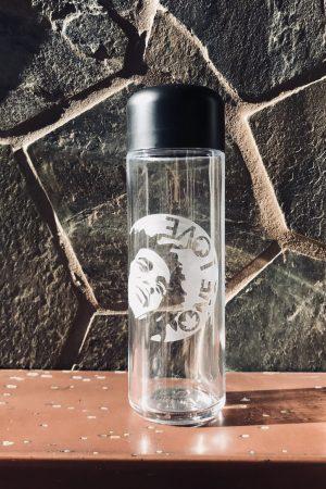 60 Gram Herb Storage, Child Resistant Stash Jar - with Dope Designs Deep Etched (One Love)