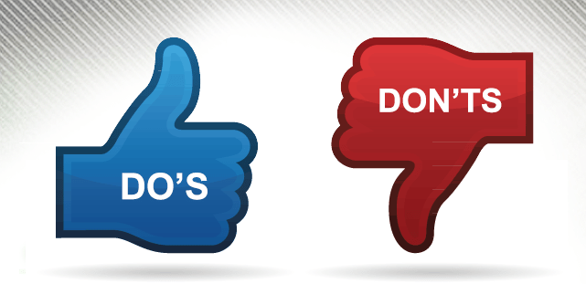 Do's & Don'ts of Affiliate Marketing