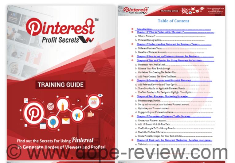 Pinterest Profit Secrets Review