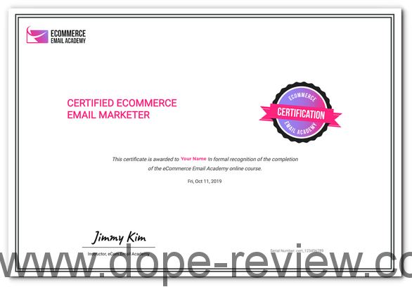 eCommerce Email Academy Review