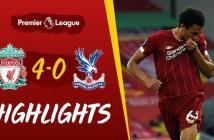 Liverpool vs Crystal Palace Highlights – 24:06:2020