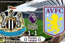 Newcastle United 1-1 Aston Villa Highlights – 24:06:2020