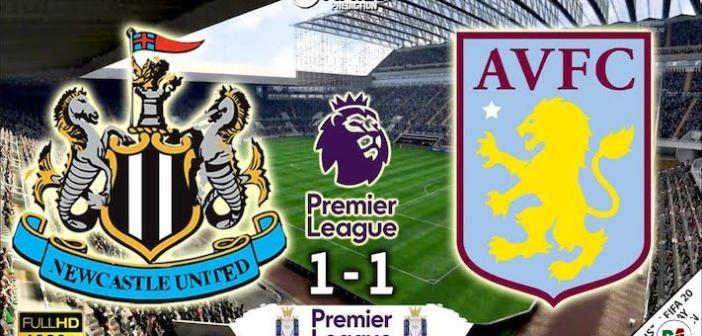Newcastle United 1-1 Aston Villa Highlights – 24:06:2020