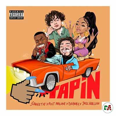 Saweetie-–-Tap-In-Remix-ft.-DaBaby-Jack-Harlow-Post-Malone_(dopearena2.com)