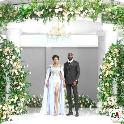 Ex-BBNaija housemates Khafi, Gedoni get married