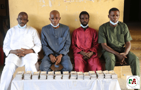 Police bust counterfeit currency gang, recover fake N5.7m notes in Abuja