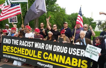White House Protest: Demanding Help For PTSD and Descheduling Cannabis 3