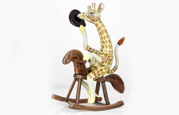 Mr. Howdey Doodat: Unique & Articulate Rodeo Giraffe 2