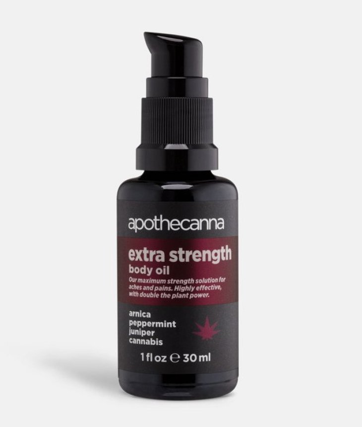 Apothecanna Extra Strength Relieving Body Oil