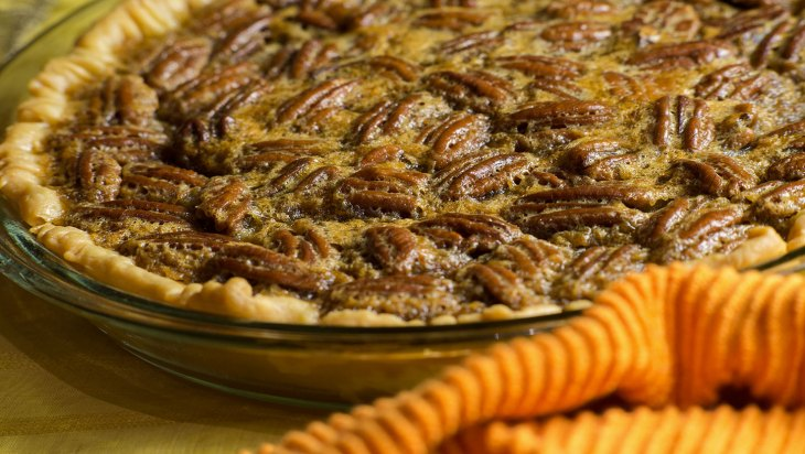 Potent Pecan Pie Recipe by Laurie and Maryjane