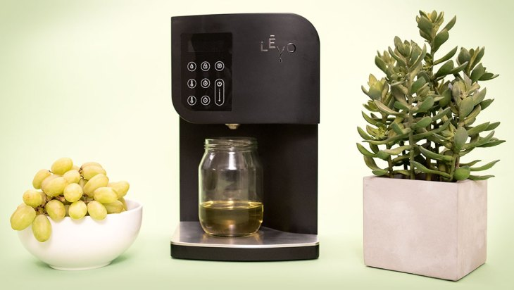 The LEVO Machine, Oil Infusion Made Easy!