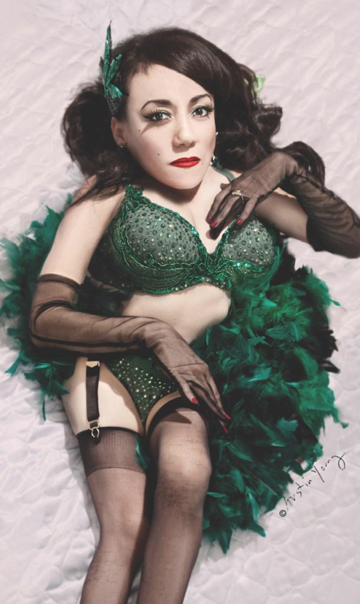 Comedian, Actress and Burlesque Performer Selene Luna