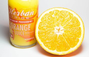 Infused Orange Juice by Herban Tribe
