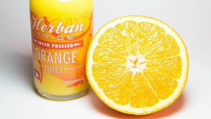 Infused Orange Juice by Herban Tribe