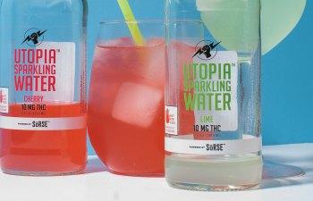 Utopia Sparkling Water by Tarukino