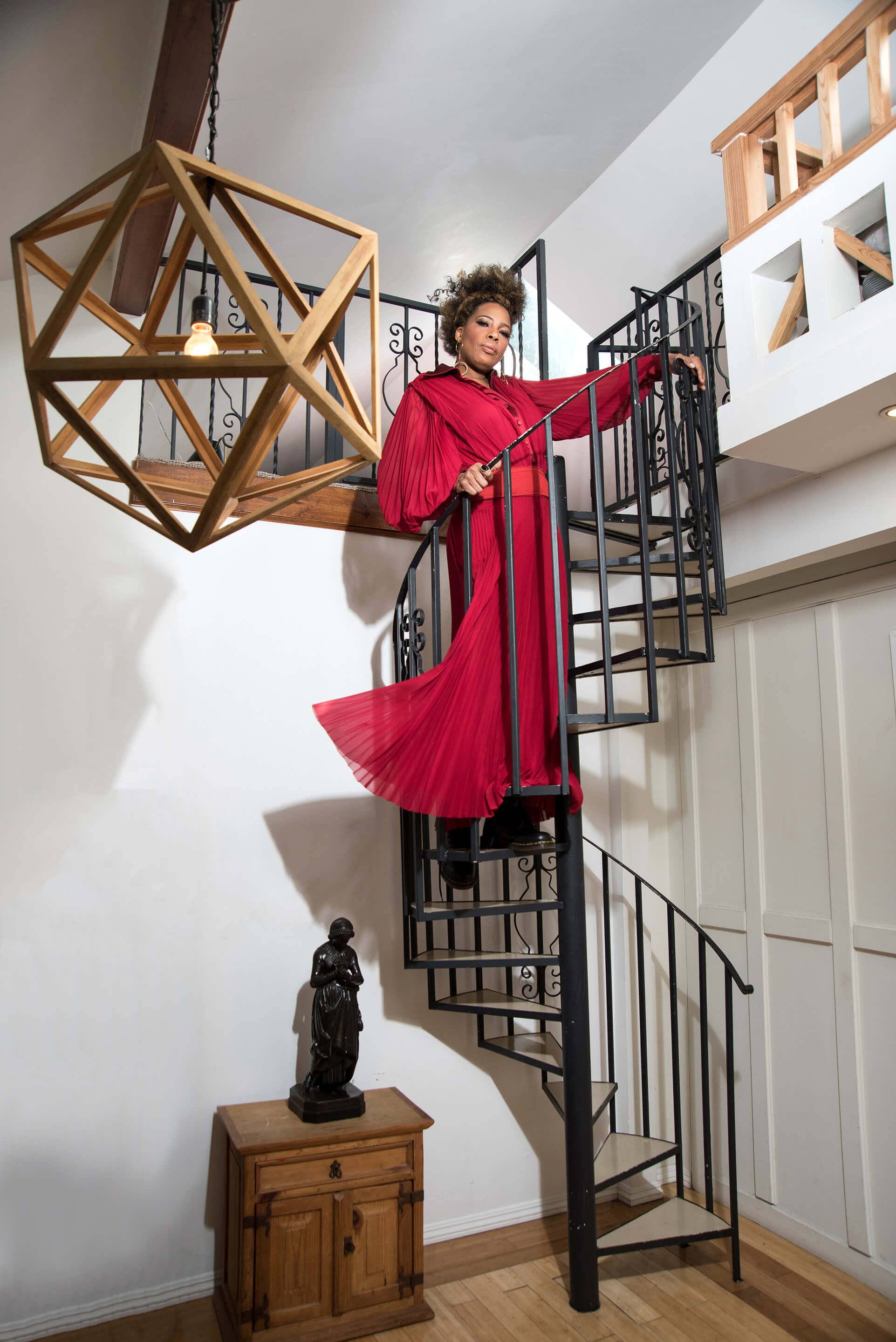 Macy Gray elevated in style...