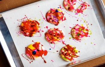 Doodle Art Cannabis Cookies