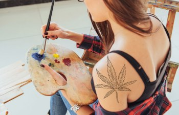 Will Cannabis Someday Play a Role in Art Therapy?