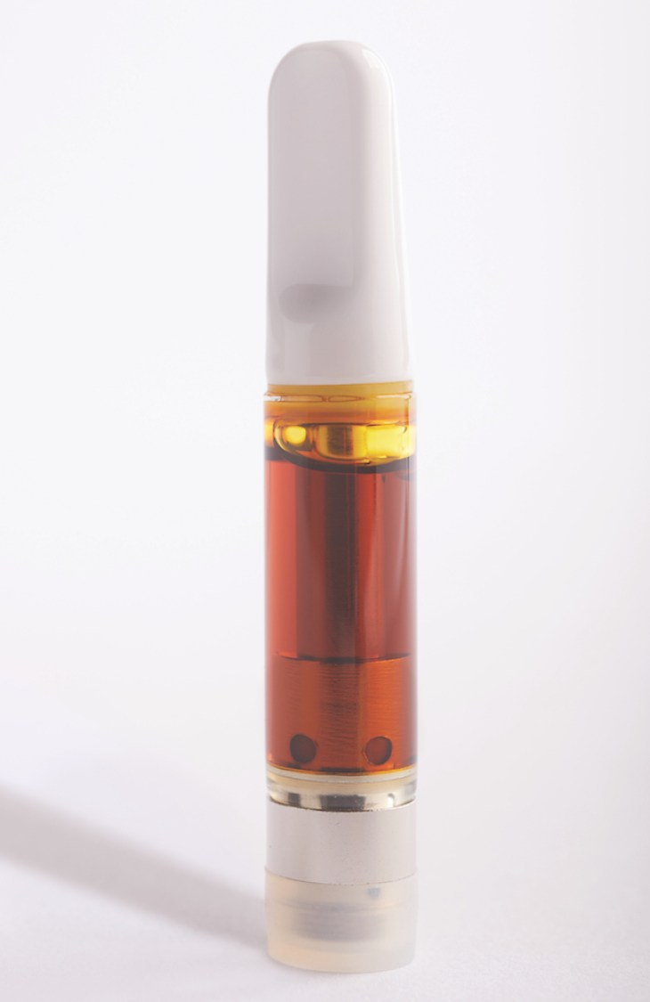 Chem Dawg Honey Oil Cartridge by Cedar Creek Cannabis