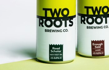 Non-Alcoholic Cannabis Brew by Two Roots Brewing Co.