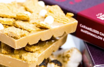 Caramelized Chocolate Marshmallow Graham Bar