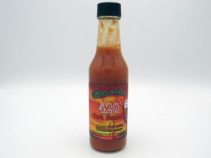 420° Hot Sauce by Green Halo