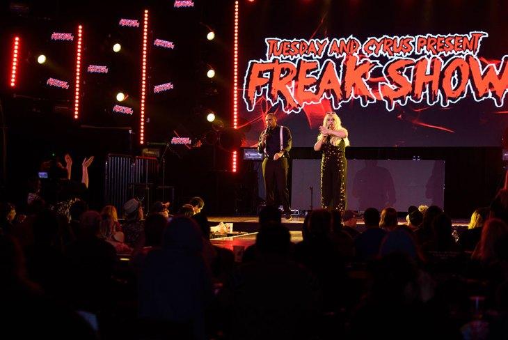 Tuesday & Cyrus Present Freak Show