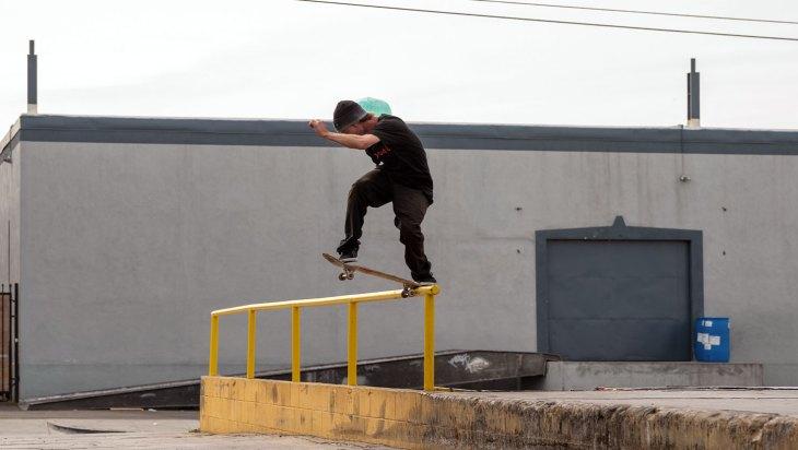 Skateboarder Matt Miller of Miller Healer