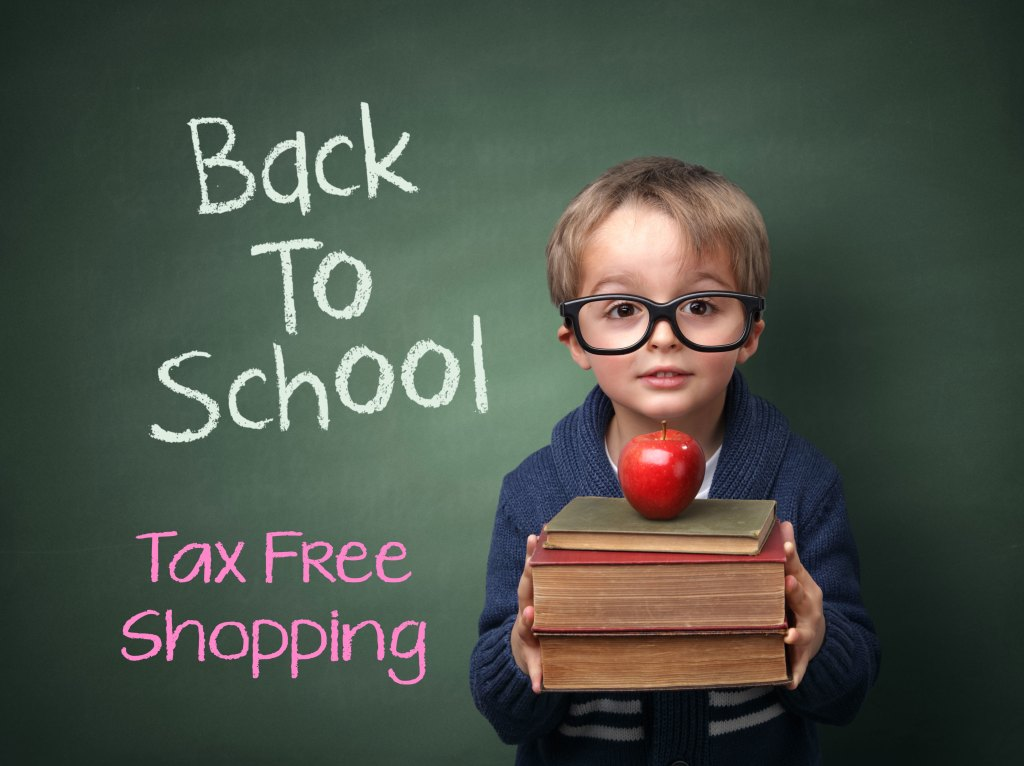Florida Tax Free Weekend August 5th thru 7th