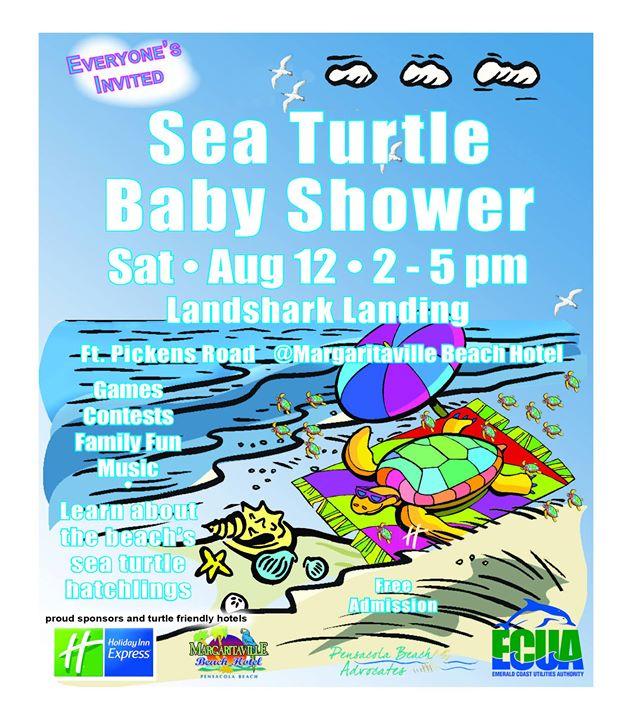 Pensacola Beach Sea Turtle Baby Shower
