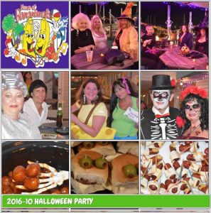 Don't miss our best party of the year!! Time to get spooky with the Krewe!  There will be costume contests, scary food contest, games, raffles and the  usual ...