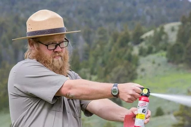 Bear Spray Demonstration