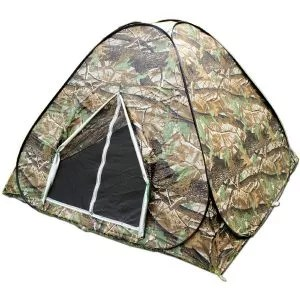 BZTANG Explorer Outdoors 3-4 Persons Camouflage Easy Setup Instant Pop up Tent