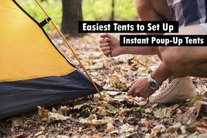 easiest tent to set up by yourself