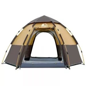Hewolf Camping Tents 2-4 Person [Instant Tent] Waterproof [Pop up Tent]