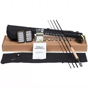 Wild Water Fly Fishing Rod and Reel Combo
