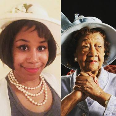 SJ as Dorothy Height