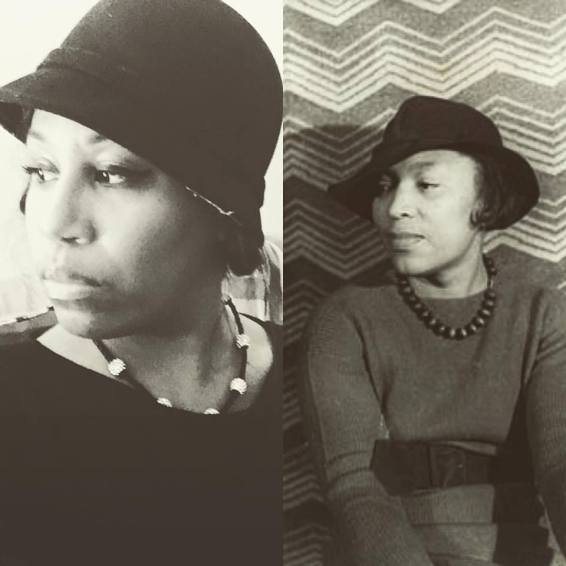 Stephanie as Zora Neale Hurston