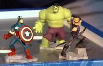 Captain America, Hulk, Hawkeye (Figures)