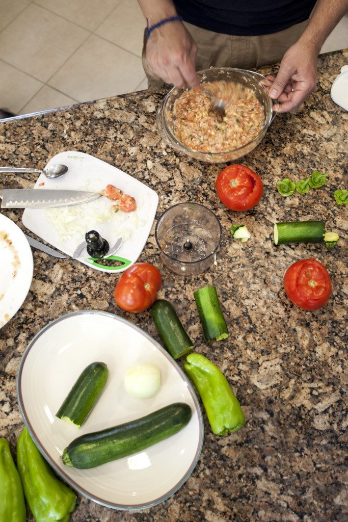Foodie Friday Greek Yemista