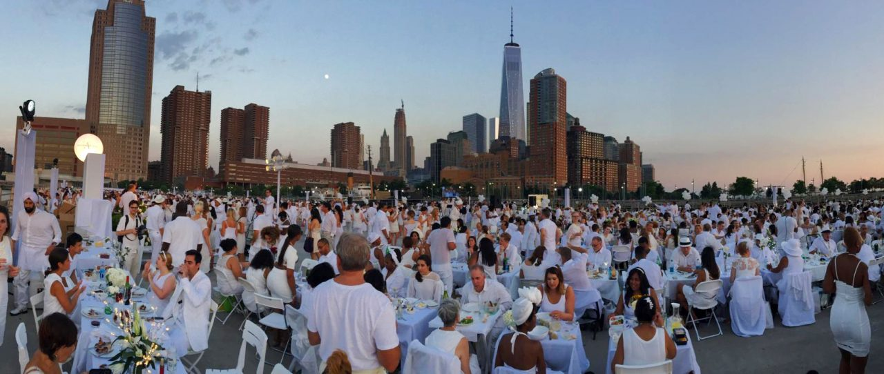 Le Diner en Blanc; a New York City Tradition