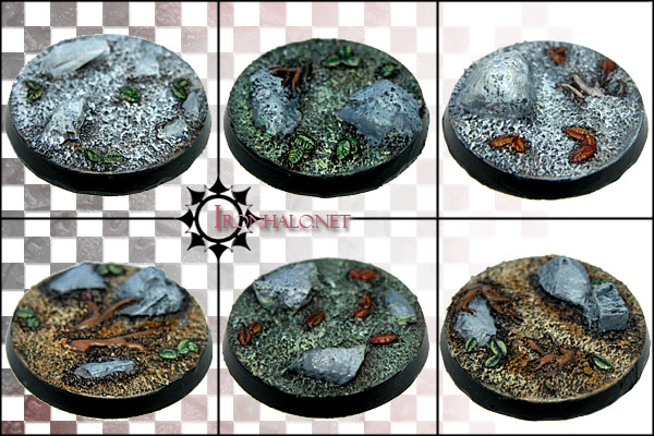 Wyldewood 40mm round bases