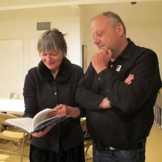 Barbara Lambrecht and design scholar Christopher Long.