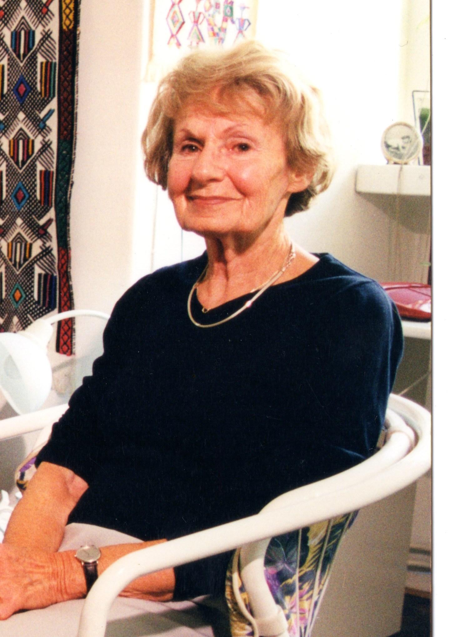 2000 Portrait of Heda Margolius Kovály, author of Hitler Stalin and I